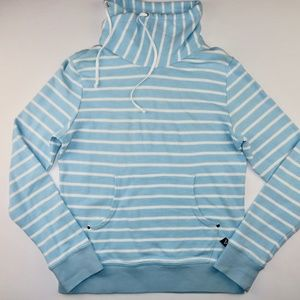 Sperry Pullover Sweatshirt Small Blue White